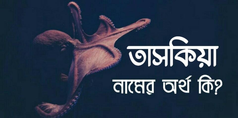 তাসকিয়া নামের অর্থ কি? Taskia name meaning in Bengali